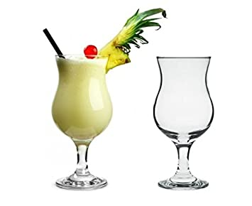 Pina colada cocktail  Pasabahce 44872 Pina Colada Glas Cocktail Glas 380 ml - 2 Stück ...