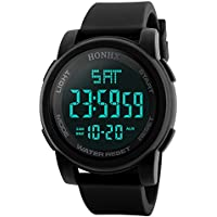 Watches for Men, Paymenow Men Luxury Calendar Analog Digital Watch LED Sports Wrist Watch