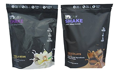 IDLife Meal Replacement & Weight Loss Protein Shakes - Vanilla and Chocolate Flavor - 1.07 Pounds Per Bag (Replacement Meal Idlife Shake)