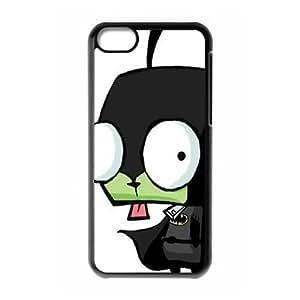 Hjqi - Custom Invader Zim Phone Case, Invader Zim Customized Case for iPhone 5C