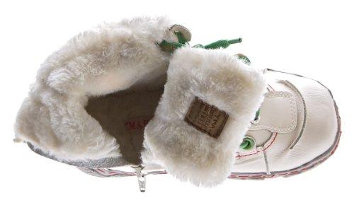 Damen Leder Winter Stiefeletten TMA gefüttert Knöchel Schuhe Schwarz Blau Grün Weiß Rot Knöchelschuhe im used look Stiefel 39