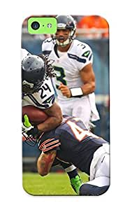 New Seale Seahawks Nfl Football Tpu Skin Case Compatible With Iphone 5c/ Perfect Design