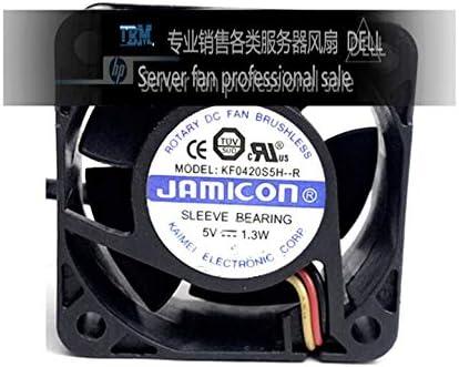 Original JAMICON KF0420S5H-R 5V 1.3W 4CM 4020 40 40 20MM3 line cooling fan