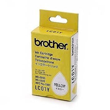 Brother Inktcartridge LC01Y geel Amarillo cartucho de tinta ...