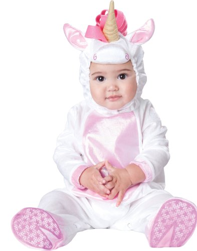 InCharacter Costumes Baby Girls' Magical Unicorn Costume, White/Pink,