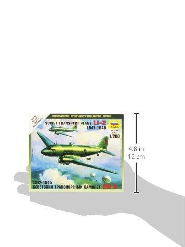Zvezda Models 1//200 Li-2 Soviet Transport Plane