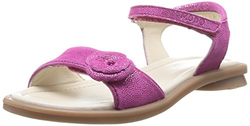 MOD8 JULIA - sandalias abiertas de cuero niña rosa - Pink (FUCHSIA21)