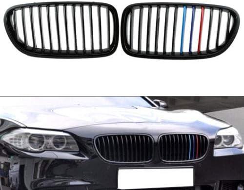 FidgetGear 1 Set Nero Lucido M5 griglia Anteriore griglia per BMW F10//F11 11-16 Top