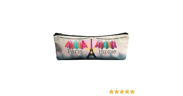 Laissez Lucie Faire Hippie - estuche de lápices, multicolor: Amazon.es: Oficina y papelería