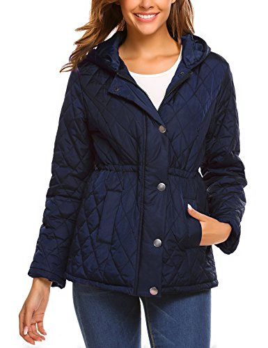 Quilted Winter Coat - 1