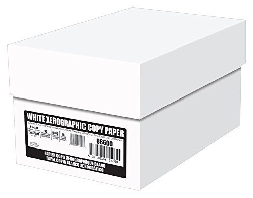 Xerographic Copy Paper, 20lb, 8.5x11, Letter, 92 Bright, 840/5,000 Sheet Cases / 1 Truckload 200,000 Sheets(086600TRK), Made In The USA