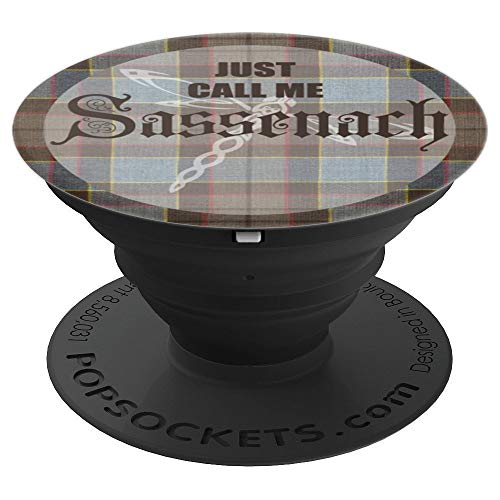 (Men Outlander Sassenach scottish Design - PopSockets Grip and Stand for Phones and Tablets)