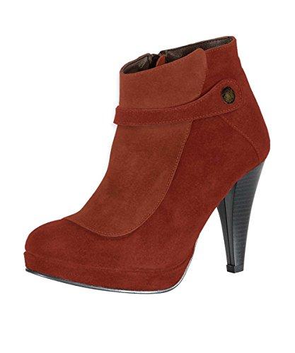 Rusty Boot Classic Connections Best Heine Brown Women's wBqHZSxS7