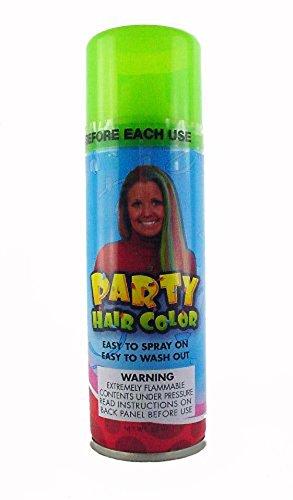 Green Fluorescent Hairspray