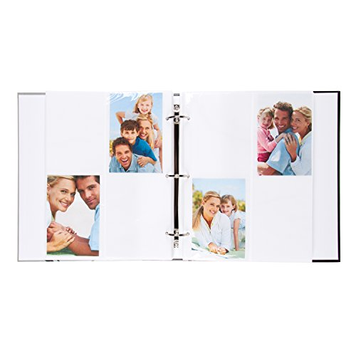 DesignOvation Live Laugh Love Expression Photo Album, Holds 440 4x6 Photos, Set of 4 by DesignOvation (Image #3)'