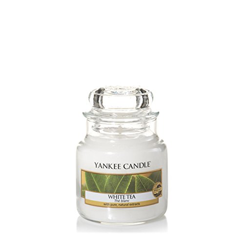Yankee Candles Small Jar Candle - White Tea