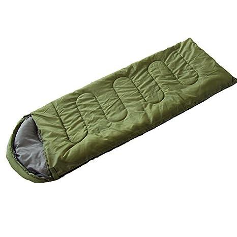 comfort portátil ligero, fácil de Comprimir, Envelope saco Sacos de dormir con bolsa de compresión: Amazon.es: Deportes y aire libre