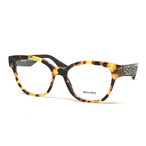 MIU MIU Eyeglasses MU 06OV 7S01O1 Light Havana - Miu Frames Miu