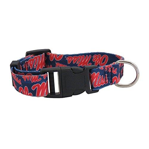 (NCAA Ole Miss Rebels Team Pet Collar, Large )