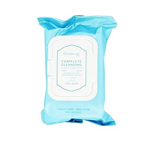 The Crème Shop - Collagen 30 Pre-Wet Towelettes