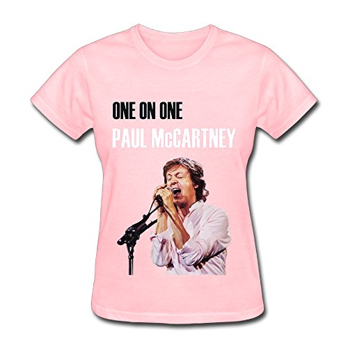 Women's Graphic Paul McCartney One On One 2016 Tour Poster T Shirt