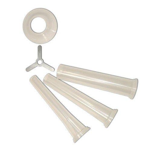 WallEc(TM) Weston 36-3217 3 Piece Stuffing Funnel Set w/ Star #32 3 Stuffing Funnels