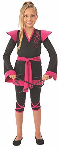 Rubie's Ninja Girl Child's Costume, -