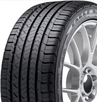 Goodyear Eagle Sport All-Season Performance Radial Tire - 255/40R18XL 99W