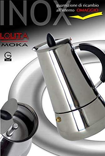 Gicos – Cafetera Lolita Moca Express 2 Tazas + Junta de Repuesto Regalo dus-152917: Amazon.es: Hogar