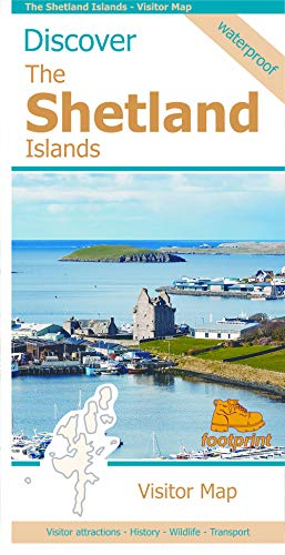 Discover The Shetland Islands - Visitor Map (Discover map series)