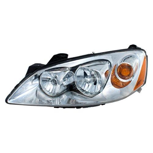 Vision Automotive PT10086A1L Head Light Lamp Assembly 05-09 Pontiac G6 Left L/H Coupe Convertible Sedan New GM2502255 (G6 Pontiac Convertible Gt)