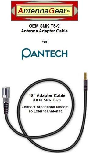 Verizon Wireless UM175 Alltel UM175 UM175AL USB Modem External Antenna Adapter Cable - OEM SMK TS