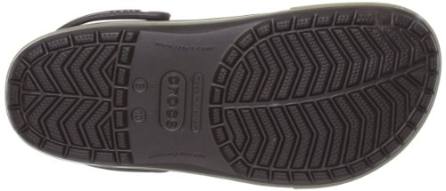 Crocs Crocband II.5 Clog, Zoccoli Unisex – Adulto Marrone (Espresso/Khaki)