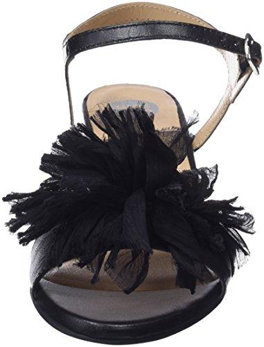 45267 Gioseppo Black Tacco Donna Aperta Punta Scarpe Nero col dWW1zTax