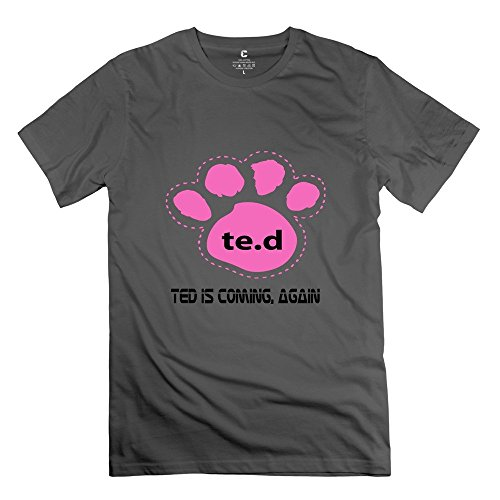 Men Personalised Custom Unique Tee Shirts/2015 Ted 2 DeepHeather