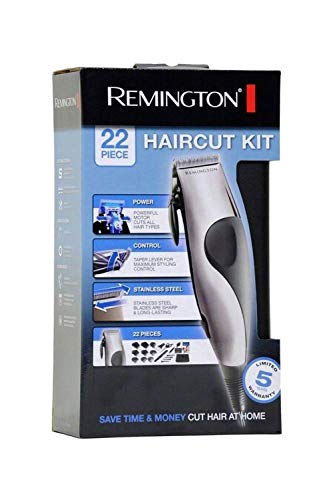 - Remington HC-80 Precision 22 Piece Corded Haircut Kit