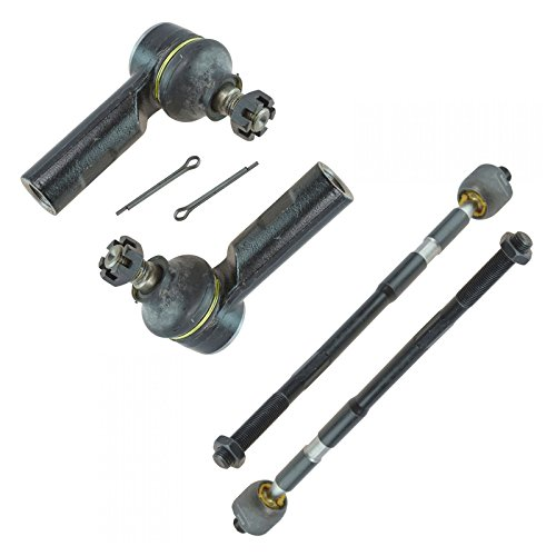 Front Steering Inner Outer Tie Rod End Driver Passenger Set 4pc for Suzuki SX4