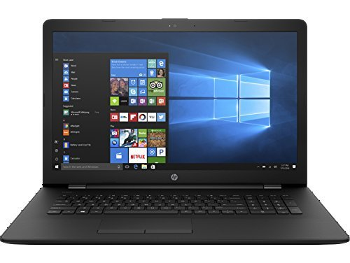 2018 HP 17.3-inch 17z Laptop PC - AMD Dual-Core A9 Processor, 8GB Memory, 1TB Hard Drive, Bluetooth, DVD Writer, USB 3.1, Windows 10, Jet Black