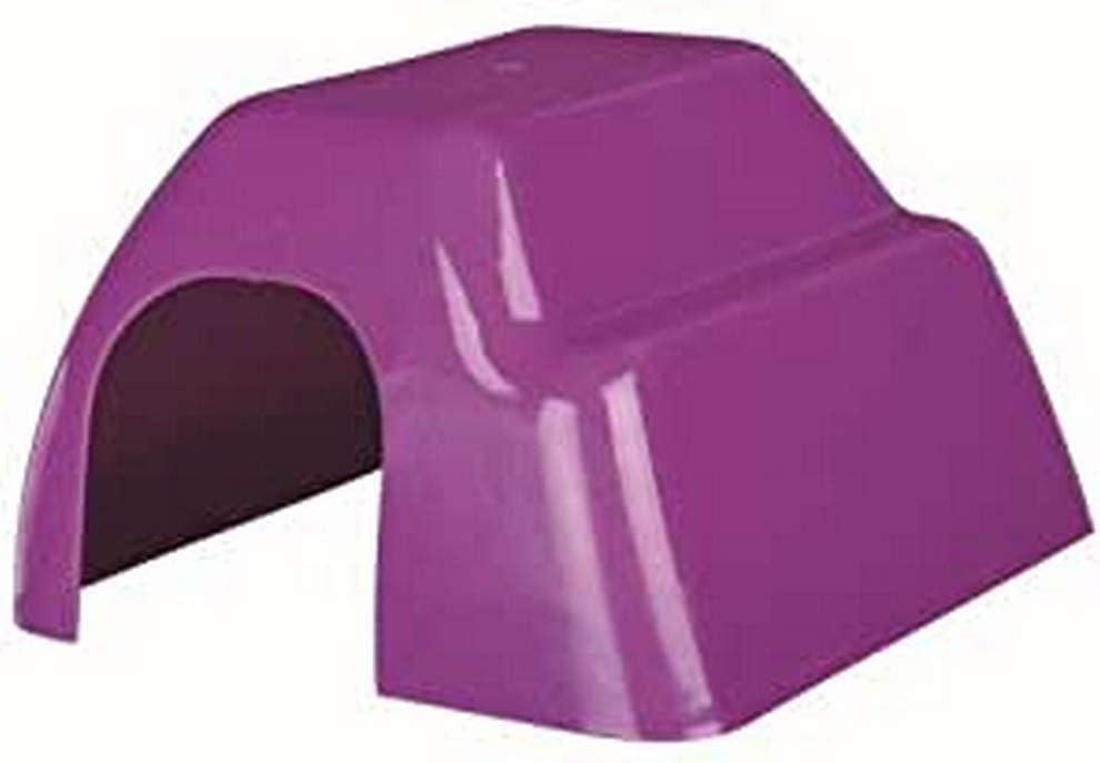 Trixie Casita Plástico Roedores, Col. Surt, 33x29x19 cm