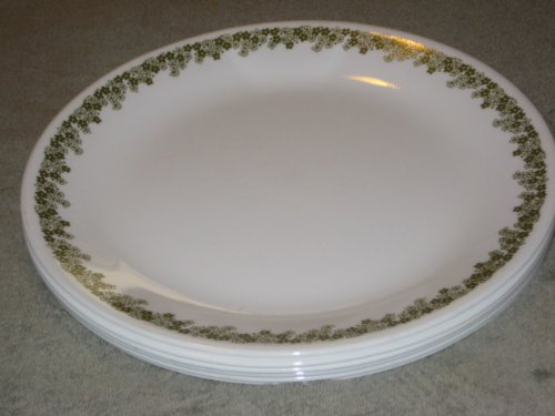 SET OF 6 - Vintage Corning Corelle 10 Inch Spring Blossom Dinner Plates