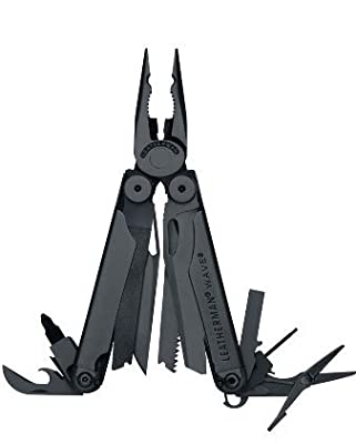 Leatherman Wave Multi Tool Black Oxide Finish with Nylon MOLLE Sheath 830246