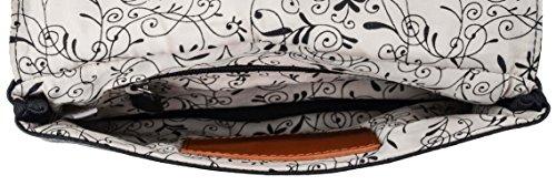Borsetta di pelle Berit di Gusti Leder studio borsa da sera pregiata per galà grandi occasioni elegante retrò nero 2H60-20-18