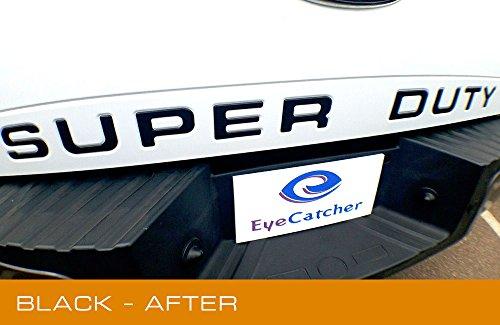 EyeCatcher Ford Super Duty 2008-2016 Tailgate Insert Letters (Matte Black)