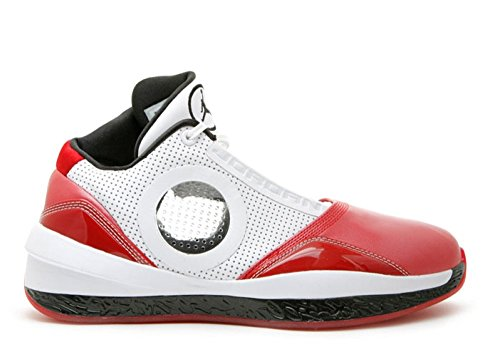101 Aging on Nike 2010 387358 Red 5 White US 9 Size Jordan Air Varsity Shoes Home Welcome rZ6TAEZYqW