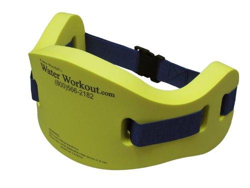 Water aerobics jog belt flotation aqua jogger for deep water exercise s m for Flotation belt swimming pool exercise equipment