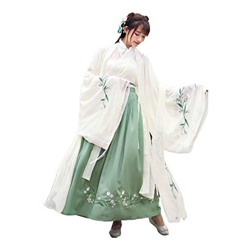Chinese Costume Hanfu Dress Embroidery Tang Dynasty