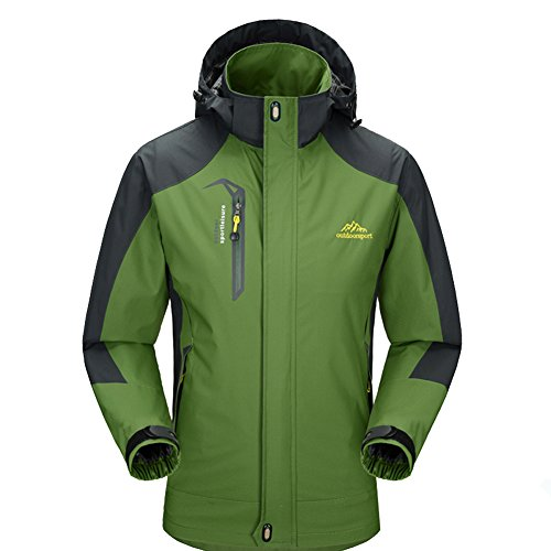 waterproof hooded jacket - 9