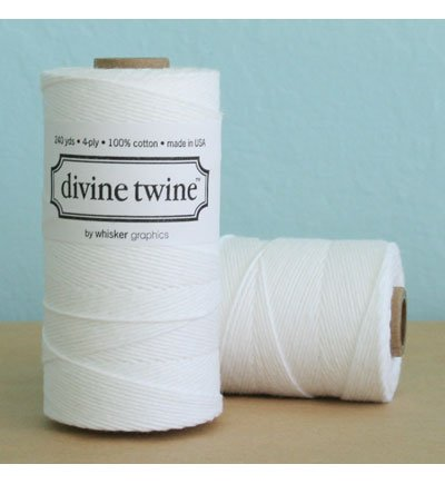Solid Bright White Divine Twine