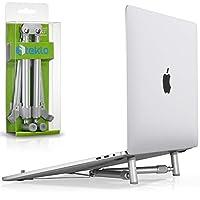 X-Stand MacBook Stand | Soporte para laptop para 12 13 15 17 pulgadas | Soporte ajustable para portátil de escritorio portátil | Soporte de aluminio para MacBook Pro Stand más nuevo 2019 2018 MacBook Air Stand (patentado)