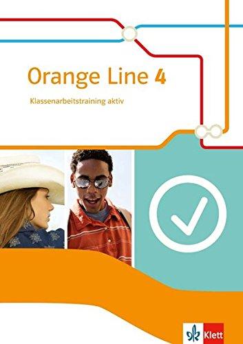 Orange Line 4: Klassenarbeitstraining aktiv mit Audio-CD und Multimedia-CD Klasse 8 (Orange Line. Ausgabe ab 2014)
